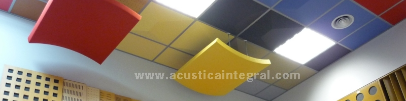 Acoustic absorbers | © Acústica Integral