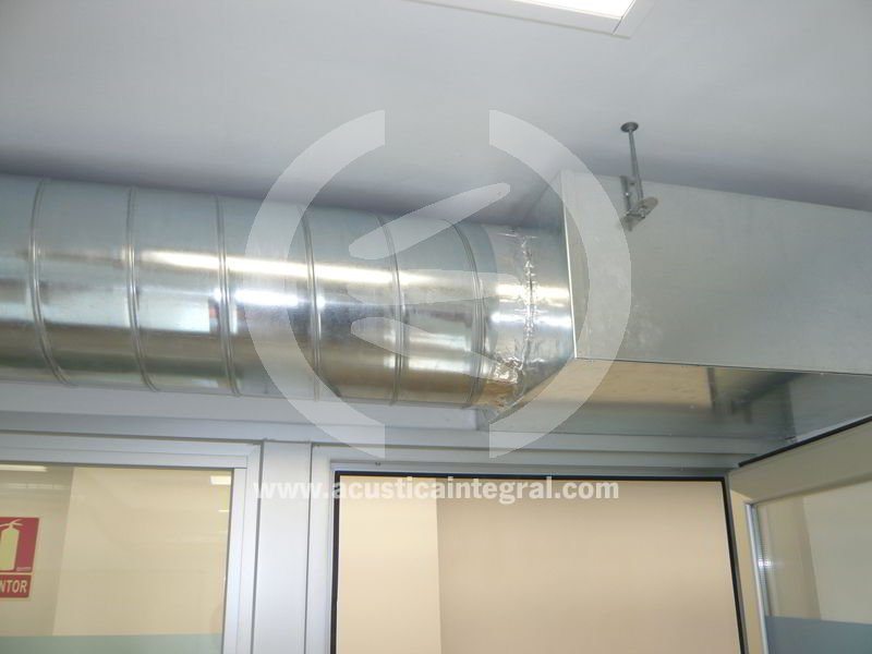 Classroom Ventilation Design ~ Absorbent treatment and noise control ventilation in