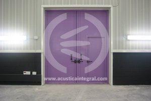 Portes acoustiques