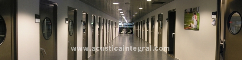 RS ACOUSTIC DOORS | © ACÚSTICA INTEGRAL.COM