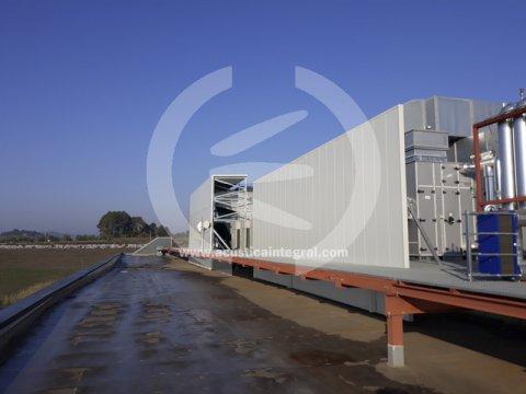 Barrera acústica de grandes dimensiones