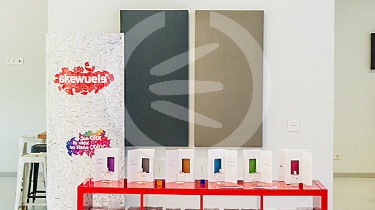 paneles acústicos absorbentes con serigrafía